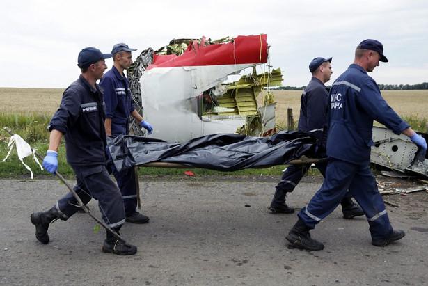 Holandia chce ukarania osób odpowiedzialnych za katastrofę boeinga EPA/ANASTASIA VLASOVA
