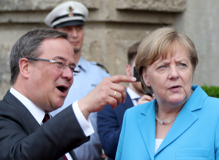 Angela Merkel, Armin Lašet
