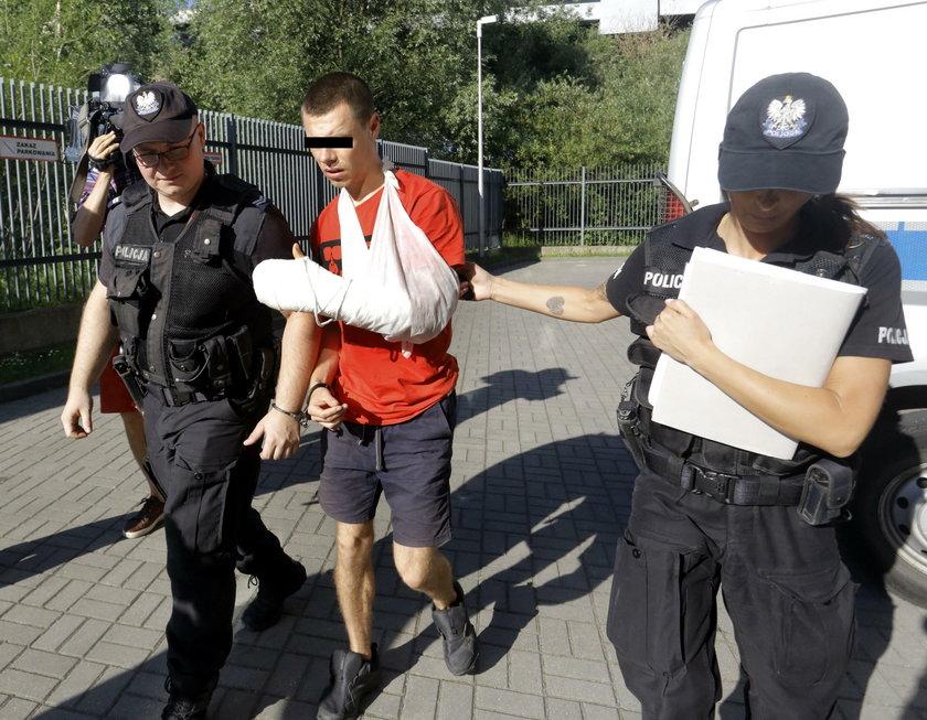 Wnuk Wałęsy zatrzymany