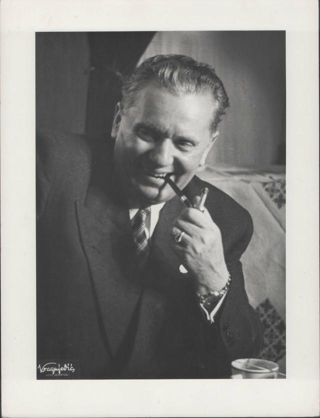 Tito, prvi Stevanov portret, 1950