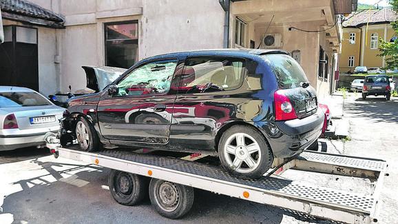 Stravična saobraćajna nesreća u Sokobanji