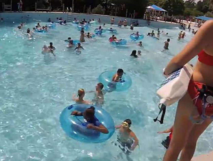 Dziecko topiło się w basenie, ludzie niczego nie zauważyli