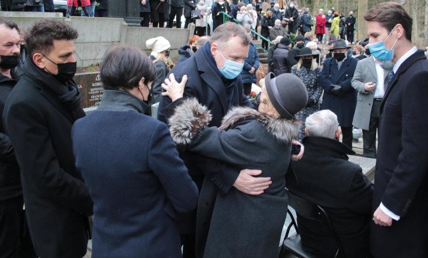 Pogrzeb Piotra Świąca.