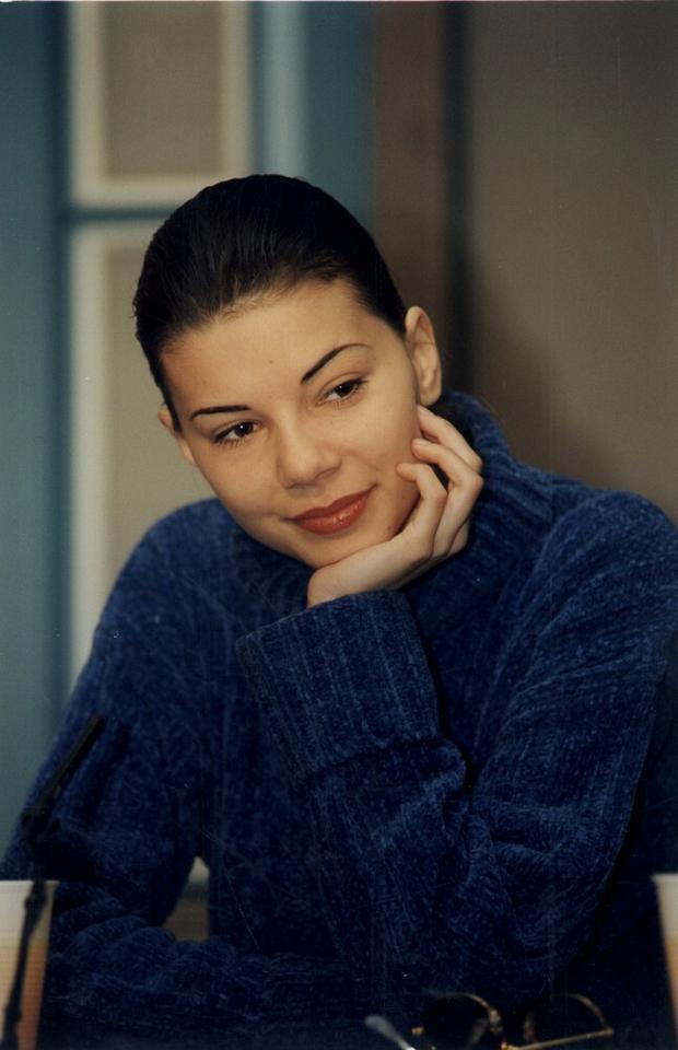 Edyta Górniak w 1995 r.