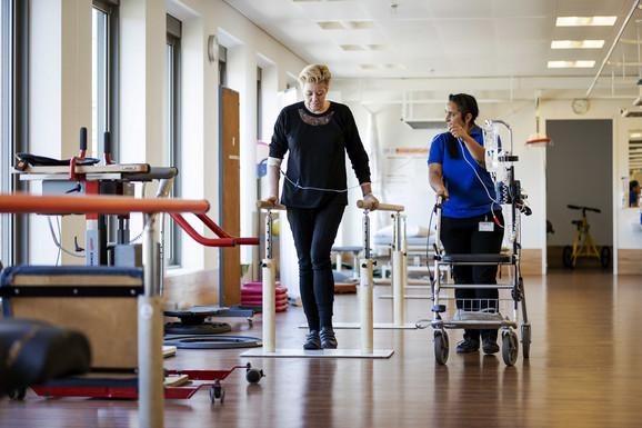 Rehabilitacija negativno testiranog pacijenta u Hagu