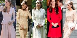 Księżna Kate w kreacjach ulubionego projektanta