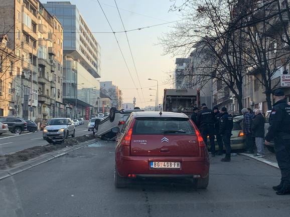 Policija na licu mesta