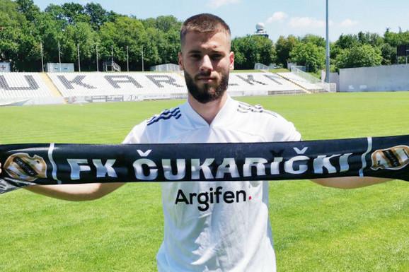 Mladi reprezentativac Crne Gore Roganović pojačao Čukarički: Došao sam u jedan od NAJBOLJIH KLUBOVA u Srbiji
