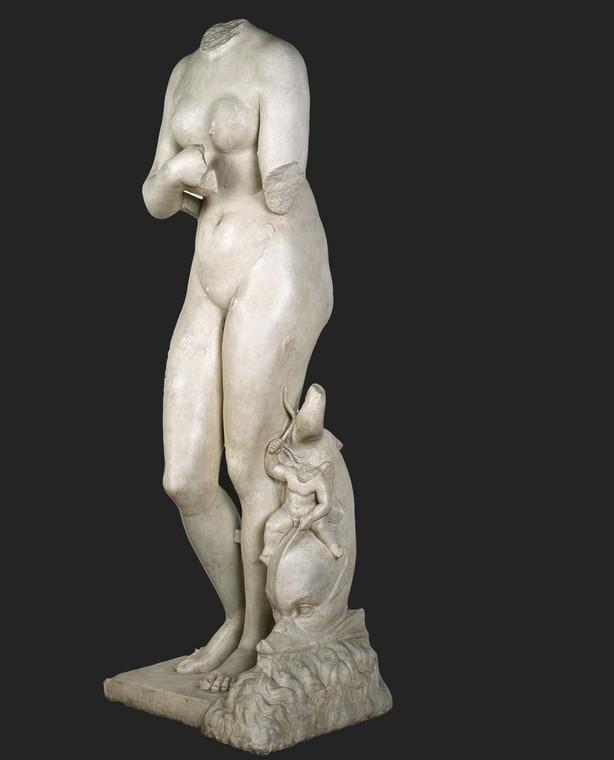 Posąg Wenus typu Medici - marmur, Cesarstwo rzymskie, początek I w.