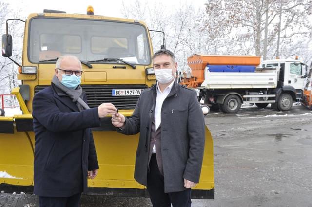 Goran Vesić i Vladimir Babić