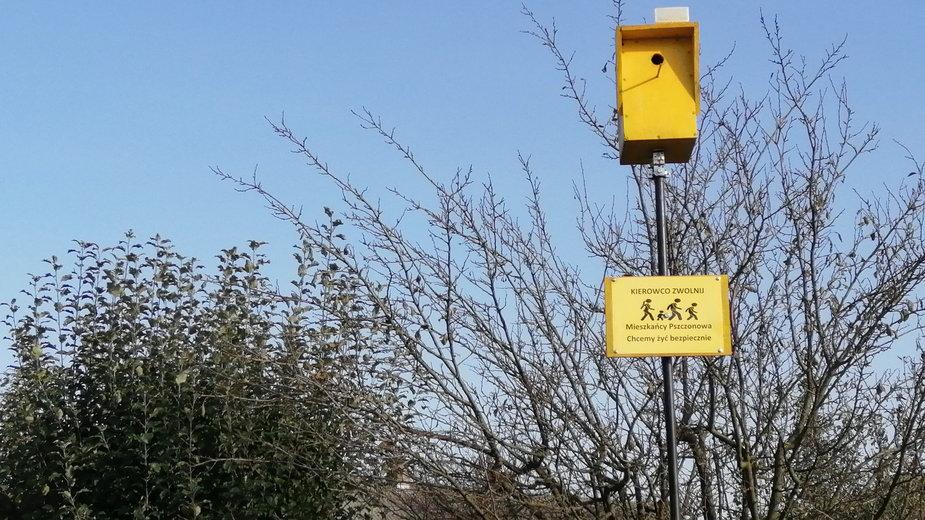 Budka dla ptaków - fotoradar