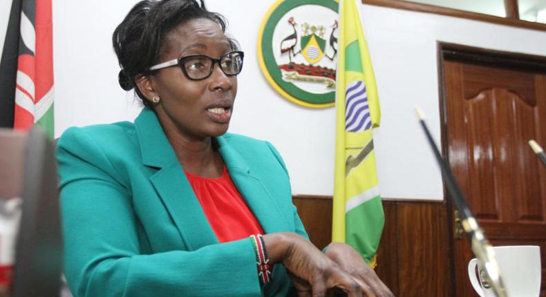 County Assembly Speaker Beatrice Elachi