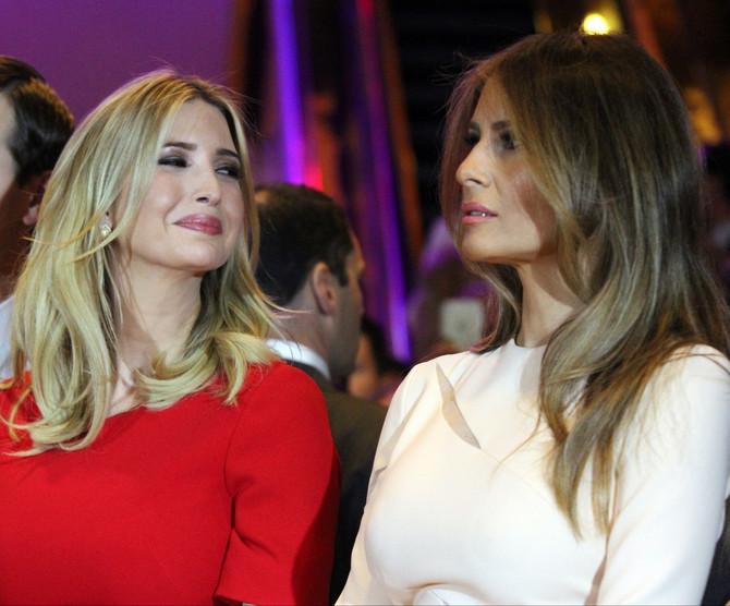 Ivanka i Melanija Tramp