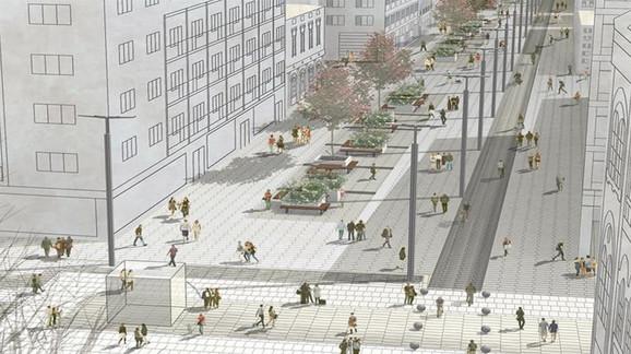 Zona Vasine ulice i Studentskog trga
