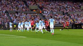 Najlepsze akcje z pierwszego meczu Celta Vigo - United