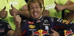 Vettel znów wygrywa