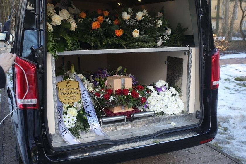 Pogrzeb Ireny Dziedzic