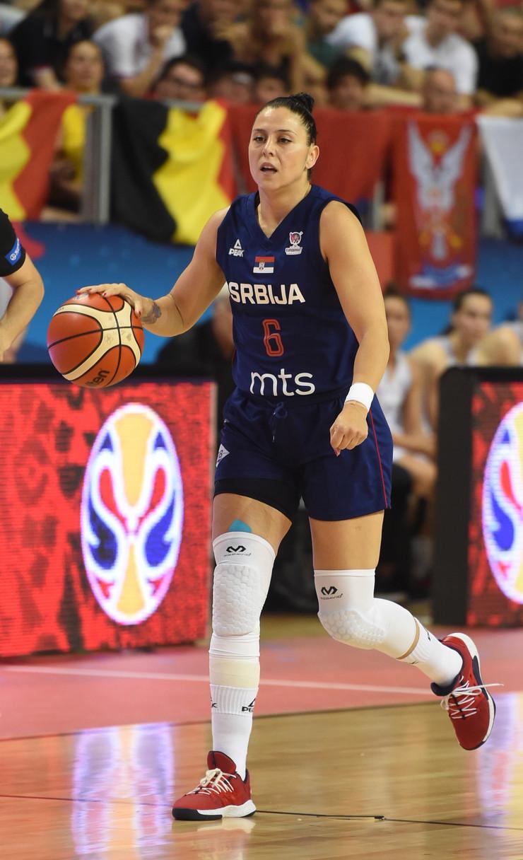 Saša Čađo, Ženska košarkaška reprezentacija Srbije