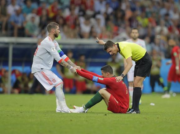 Serhio Ramos i Kristijano Ronaldo