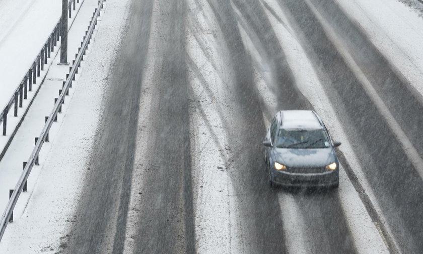 Uwaga! Ostrzeżenie IMGW. W tym miejscu może spaść śnieg