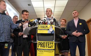 ZNP chce od czerwca podwyżek o 9,6 proc. dla strajkujących nauczycieli