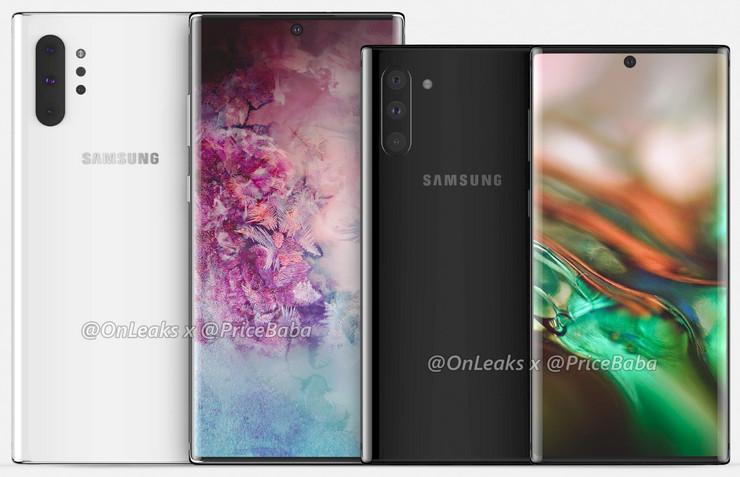 Galaxy Note 10 i Galaxy Note 10 Pro