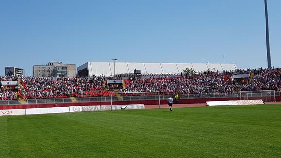 Sportske igre mladih su održane na stadionu