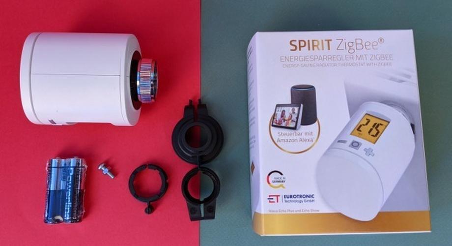 Spirit Zigbee: Heizthermostat für Amazon Echo im Test