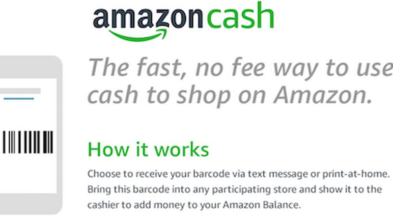 Amazon Cash - zakupy bez karty płatniczej