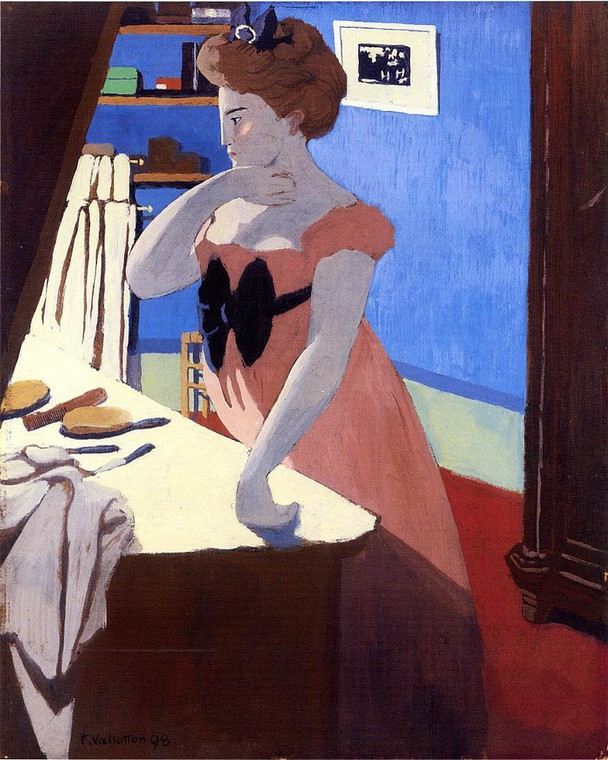 "Félix Vallotton, ""Misia at Her Dressing Table"" (1898)"