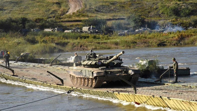 Rosyjskie manewry wojskowe