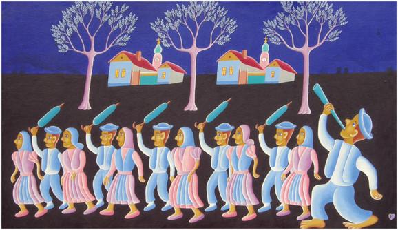 Jan Knjazovic, Folklorna igra