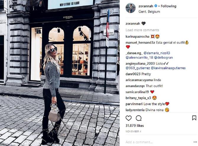 Zorana Jovanović  ponosno predstavlja svoj novi modni predlog