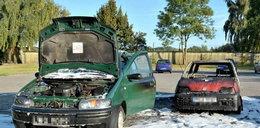 10 samochodów podpalonych w centrum Łodzi!