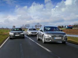 Audi A6, BMW serii 5 i Mercedes klasy E - wielkie kombi za jeszcze większą kasę | TEST