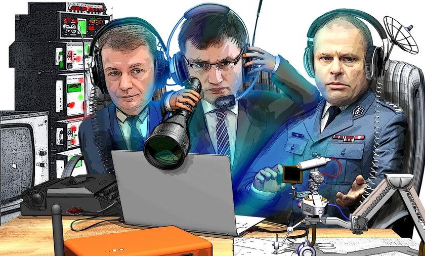 Mariusz Błaszczak, Zbigniew Ziobro i Zbigniew Maj