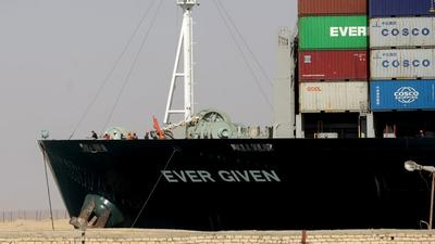 Egyptian court lifts Ever Given's Suez Canal detention order