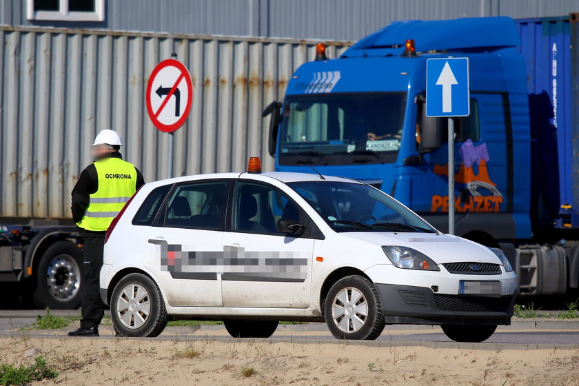 Ciężki los kierowców tirów