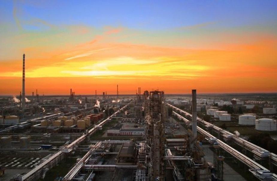 Rafineria Mozejki. Zdjęcie: PKN Orlen