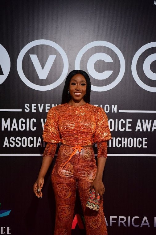 Beverly Naya at the AMVCA nominee Party [ BHM]