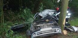 Tragiczny wypadek. Kierowca zginął na miejscu