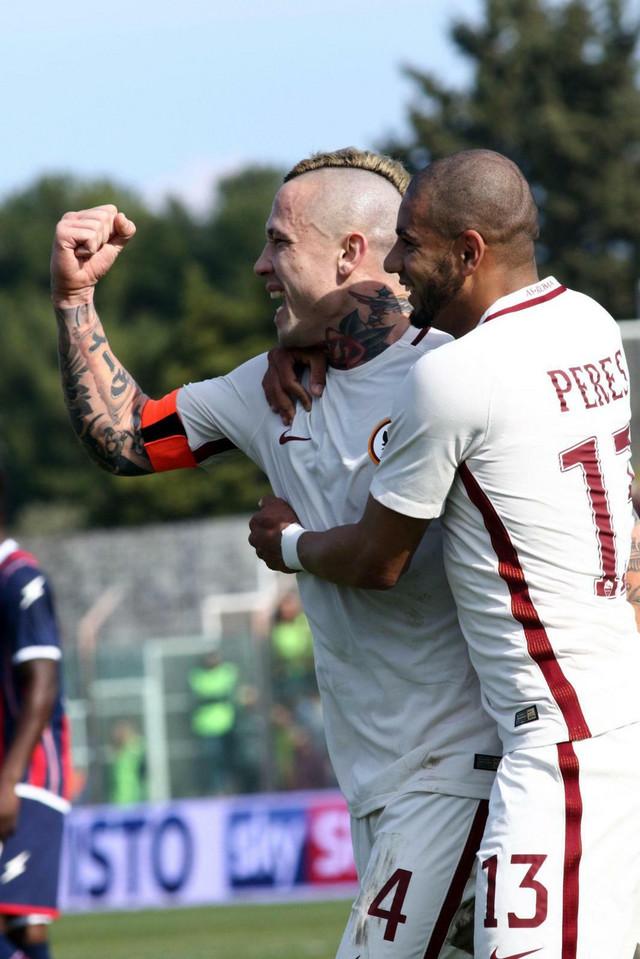 Naingolan i Perez slave vodeći gol Rome