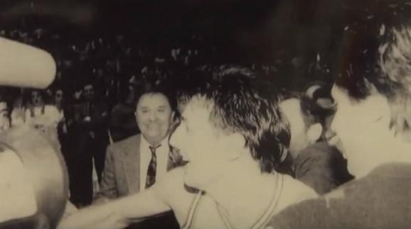 Miketa Đurić i Sale Đorđević posle evropske titule crno-belih u Istanbul