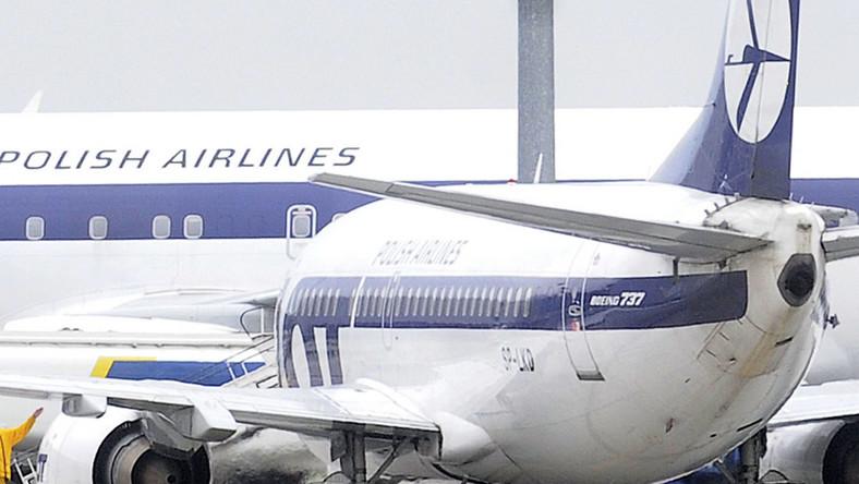 Okęcie: odwołane loty do Londynu