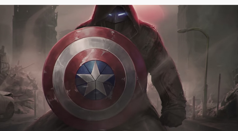 This Engineer Just Built an Alternate Timeline Version of Captain America's Shield