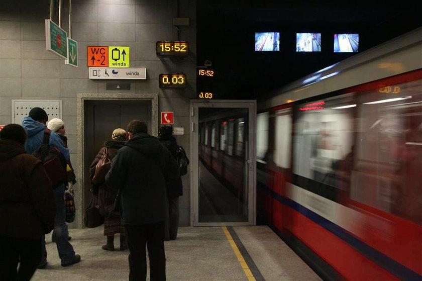 Zegar w metrze
