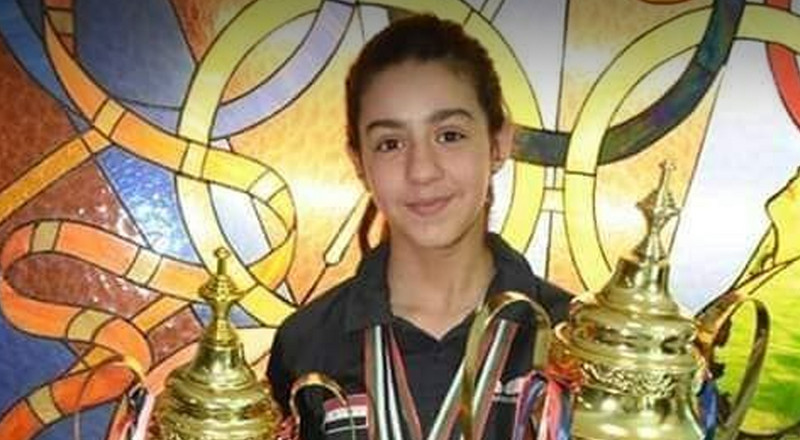 A 11-year-old Syrian table tennis player beat a woman 30 years older than her to qualify for the Olympics
