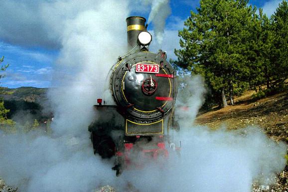 Gost iz Japana insistirao da se vozi sam i putuje u parnoj lokomotivi