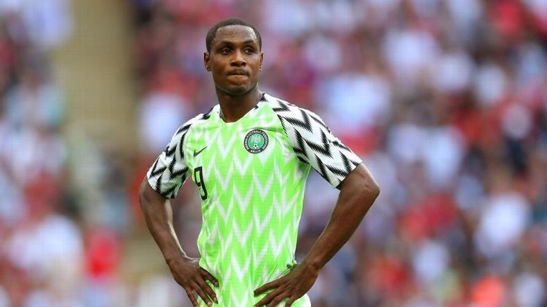 Odion Ighalo was also one of the first arrivals in Super Eagles camp on Monday
