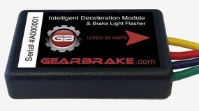 GearBrake - gadżet do bezpiecznego hamowania silnikiem